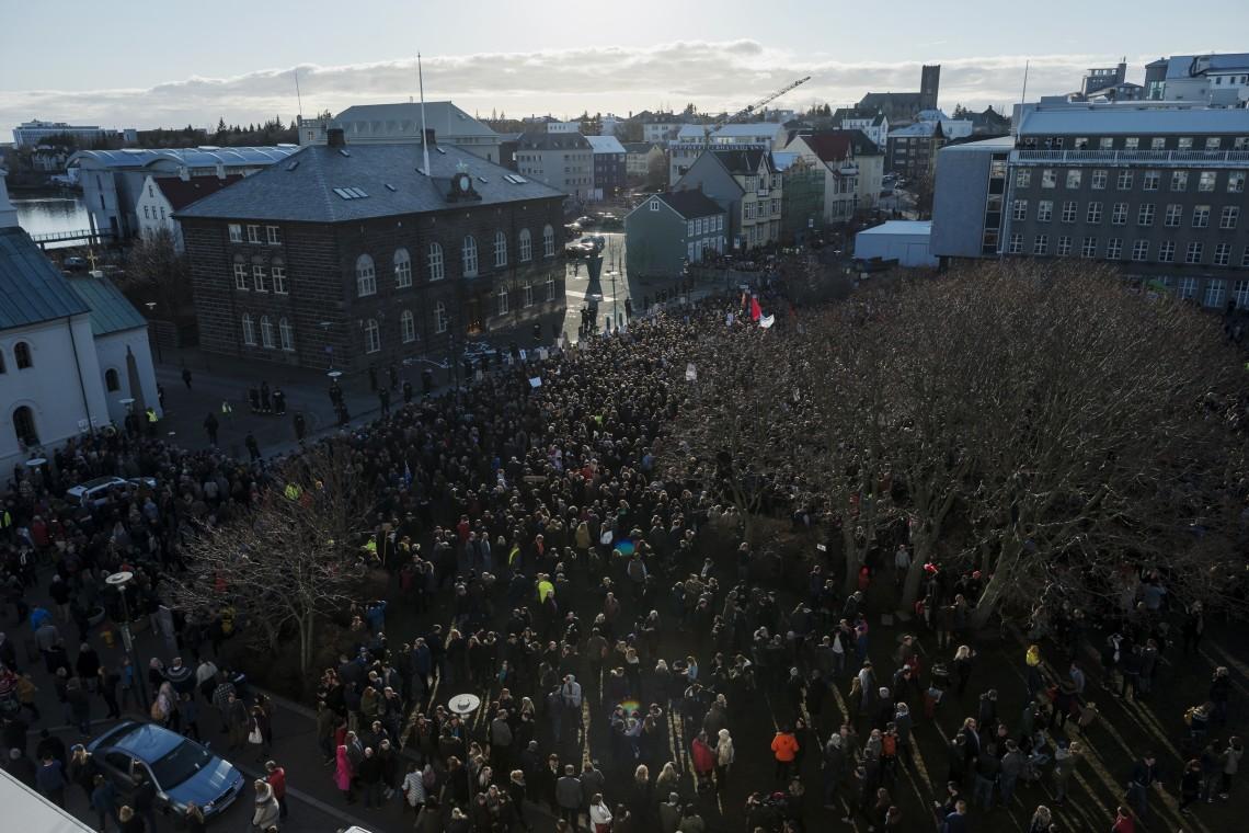 Icelandic uprise